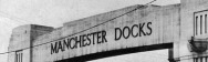 Manchester Docks Gate - small banner
